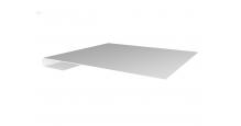Металлические доборные элементы для фасада в Саратове Планка завершающая простая 65мм