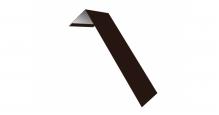 Металлические доборные элементы для фасада в Саратове Планка лобовая/околооконная простая 190х50